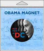 Obama Packaged Magnet